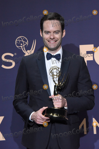 Bill Hader Photo - LOS ANGELES - SEP 22  Bill Hader at the Emmy Awards 2019 PRESS ROOM at the Microsoft Theater on September 22 2019 in Los Angeles CA