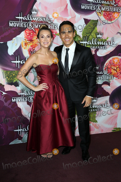 Carlos Pena Photo - LOS ANGELES - JAN 13  Alexa PenaVega Carlos PenaVega at the Hallmark Channel and Hallmark Movies and Mysteries Winter 2018 TCA Event at the Tournament House on January 13 2018 in Pasadena CA