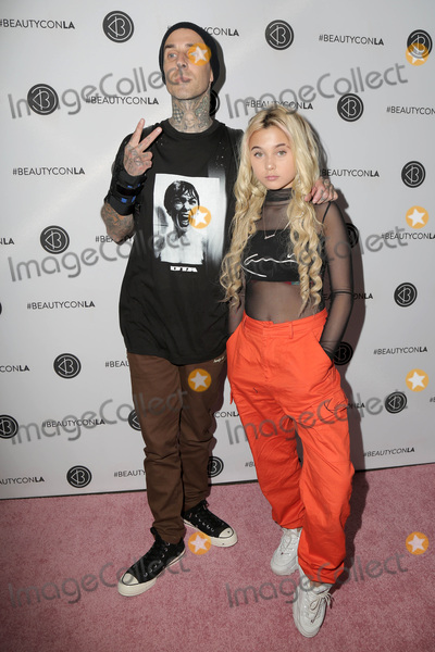 Alabama Photo - LOS ANGELES - JUL 14  Travis Barker Alabama Barker at the Beautycon Festival LA 2018 at the Convention Center on July 14 2018 in Los Angeles CA