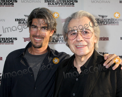 Lalo Schifrin Photo - Ryan Schifrin  Father Lalo  Schifrin arriving at the LA Premiere of Inglourious Basterds at Graumans Chinese Theater in Los Angeles CA  on August 10  2009