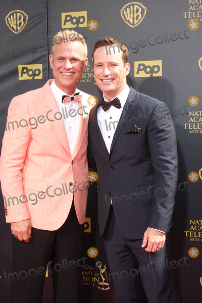 George Gray Photo - LOS ANGELES - APR 26  George Gray Mike Richards at the 2015 Daytime Emmy Awards at the Warner Brothers Studio Lot on April 26 2015 in Burbank CA