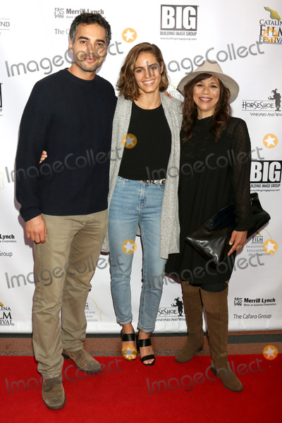 Rosie Perez Photo - LOS ANGELES - SEP 26  Ramon Rodriguez Karina Silva Rosie Perez at the Catalina Film Festival - Opening Night at the Art Theater on September 26 2018 in Long Beach CA