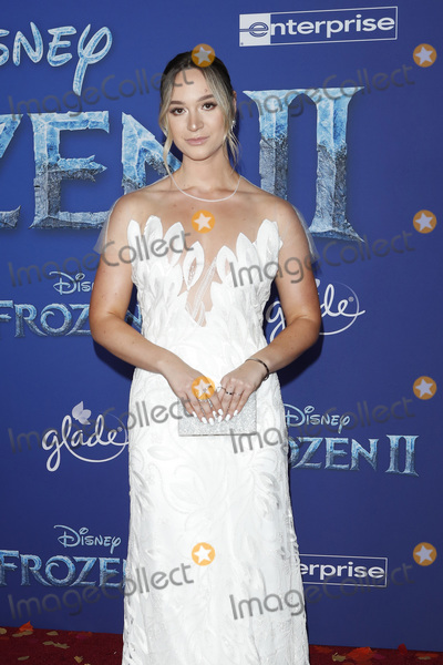 Alisha Marie Photo - LOS ANGELES - NOV 7  Alisha Marie at the Frozen 2  LA Premiere at the Dolby Theater on November 7 2019 in Los Angeles CA