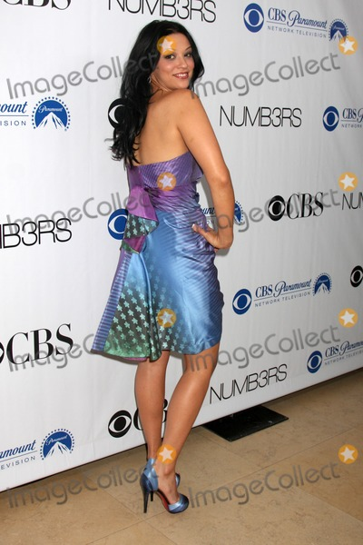 Zac Posen Photo - Navi Rawat in a Zac Posen dress  arriving at the Numb3rs 100th Episode Party at the Sunset Tower Hotel in West Hollywood  California on April 21 2009