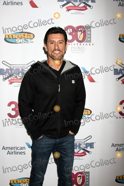 Adrian Gonzalez Photo - LOS ANGELES - NOV 7  Nomar Garciaparra at the Adrian Gonzalezs Bat 4 Hope Celebrity Softball Game PADRES Contra El Cancer at the Dodger Stadium on November 7 2015 in Los Angeles CA