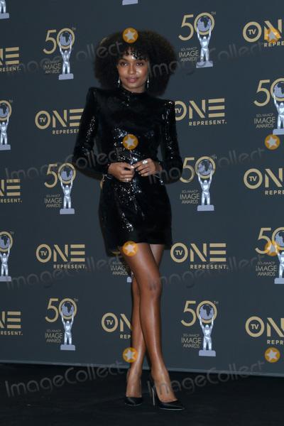 Yara Shahidi Photo - LOS ANGELES - MAR 30  Yara Shahidi at the 50th NAACP Image Awards - Press Room at the Dolby Theater on March 30 2019 in Los Angeles CA