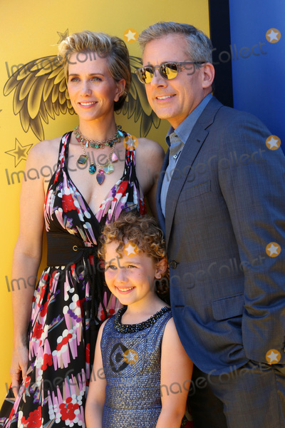 Nev Scharrel Photo - LOS ANGELES - JUN 24  Kristen Wiig Nev Scharrel Steve Carell at the Despicable Me 3 Premiere at the Shrine Auditorium on June 24 2017 in Los Angeles CA