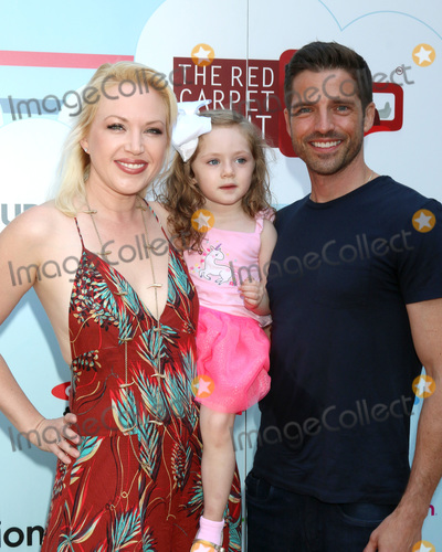 Adrienne Frantz Photo - LOS ANGELES - SEP 22  Adrienne Frantz Amelie Bailey Scott Bailey at the 7th Annual Celebrity Red CARpet Event at the Sony Studio on September 22 2018 in Culver City CA