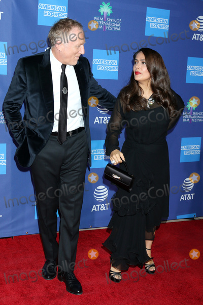 Salma Hayek Photo - PALM SPRINGS - JAN 2  Salma Hayek and Francois-Henri Pinault at the 2020 Palm Springs International Film Festival Gala Arrivals at the Conventional Center on January 2 2020 in Palm Springs CA