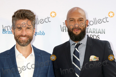 Tim Howard Photo - LOS ANGELES - JUL 17  Kyle Martino Tim Howard at the 4th Annual Sports Humanitarian Awards on The Novo on July 17 2018 in Los Angeles CA