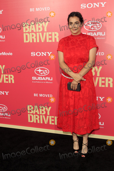 Alanna Masterson Photo - LOS ANGELES - JUN 14  Alanna Masterson at the Baby Driver Premiere at the The Theater at Ace Hotel on June 14 2017 in Los Angeles CA
