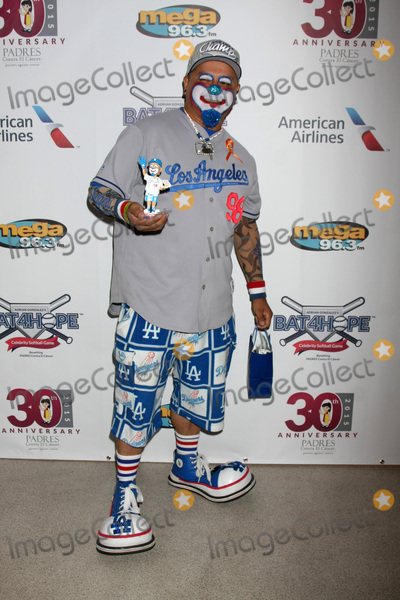 Adrian Gonzalez Photo - LOS ANGELES - NOV 7  Hiccups the Clown at the Adrian Gonzalezs Bat 4 Hope Celebrity Softball Game PADRES Contra El Cancer at the Dodger Stadium on November 7 2015 in Los Angeles CA
