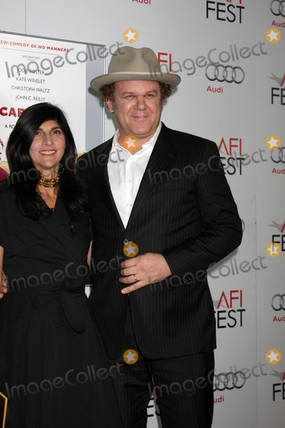 Alison Dickey Photo - LOS ANGELES - NOV 5  Alison Dickey John C Reilly arrives at the AFI FEST 2011 Gala Screening of Carnage at Graumans Chinese Theater on November 5 2011 in Los Angeles CA