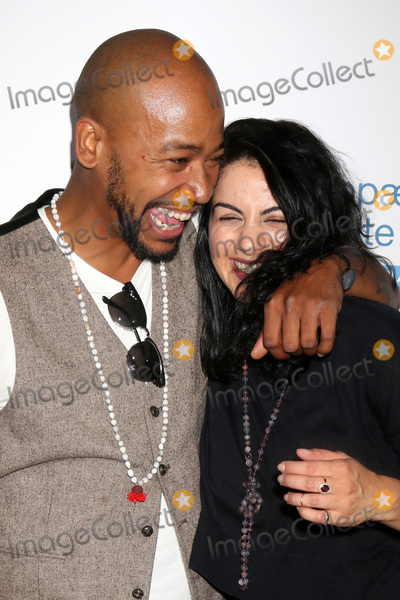 The Stands Photo - LOS ANGELES - JUN 18 Columbus Short fiance Aida Abramyan at the Stand For Kids Gala at the Twentieth Century Fox Studios Lot on    June 18 2016 in Century City CA