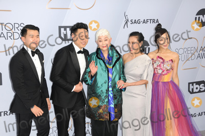 Jon M Chu Photo - LOS ANGELES - JAN 27  Jon M Chu Ronny Chieng Lisa Lu Tan Kheng Hua Fiona Xie at the 25th Annual Screen Actors Guild Awards at the Shrine Auditorium on January 27 2019 in Los Angeles CA