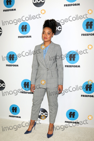 Aisha Dee Photo - LOS ANGELES - FEB 5  Aisha Dee at the Disney ABC Television Winter Press Tour Photo Call at the Langham Huntington Hotel on February 5 2019 in Pasadena CA