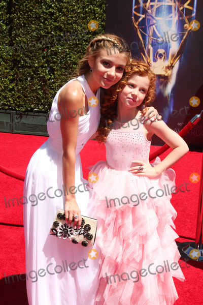 Francesca Capaldi Photo - LOS ANGELES - AUG 16  G Hannelius Francesca Capaldi at the 2014 Creative Emmy Awards - Arrivals at Nokia Theater on August 16 2014 in Los Angeles CA
