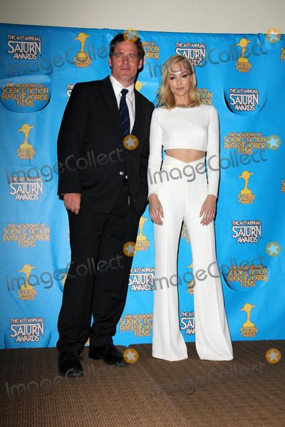 Ben Browder Photo - LOS ANGELES - JUN 25  Ben Browder Laura Vandervoort at the 41st Annual Saturn Awards Press Room at the The Castaways on June 25 2015 in Burbank CA