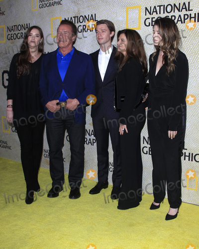 Arnold Schwarzenegger Photo - LOS ANGELES - OCT 30  Christina Schwarzenegger Arnold Schwarzenegger Patrick Schwarzenegger Maria Shriver Katherine Schwarzenegger at the The Long Road Home Premiere Screening at the Royce Hall UCLA  on October 30 2017 in Westwood CA