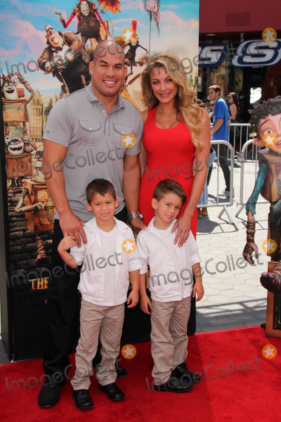 Amber Miller Photo - LOS ANGELES - SEP 21  Tito Ortiz Amber Miller at the The Boxtrolls Los Angeles Premiere at Universal City Walk on September 21 2014 in Los Angeles CA