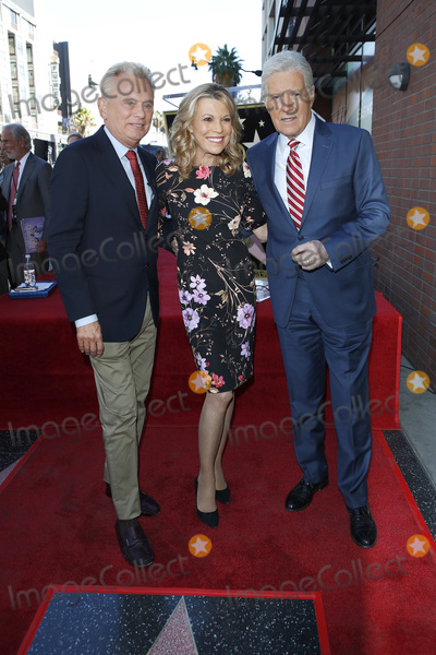 Alex Trebek Photo - LOS ANGELES - NOV 24  Pat Sajak Vanna White Alex Trebek at the Harry Friedman Star Ceremony on the Hollywood Walk of Fame on November 24 2019 in Los Angeles CA