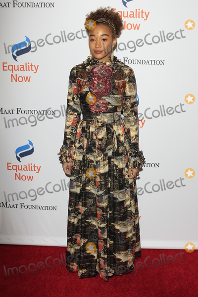 Amandla Stenberg Photo - LOS ANGELES - DEC 3  Amandla Stenberg at the Make Equality Reality Gala at the Beverly Hilton Hotel on December 3 2018 in Beverly Hills CA