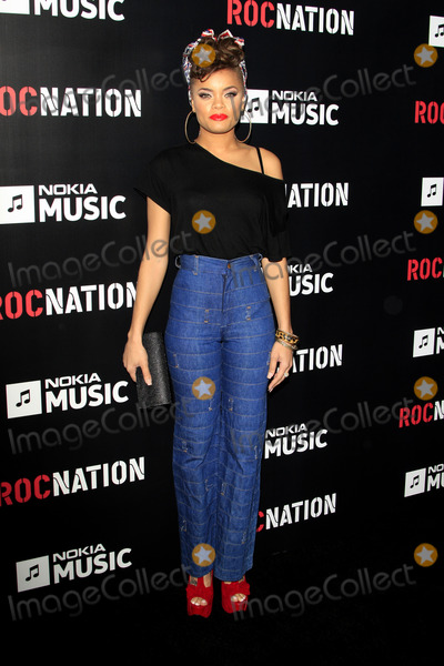 Andra Day Photo - LOS ANGELES - FEB 9  Audra Day arrives at the ROC NATION Annual Pre-Grammy Brunch at the Soho House on February 9 2013 in West Hollywood CA