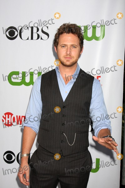 AJ Buckley Photo - AJ Buckley arriving at the CBS Television Distribution TCA Stars Party at the Huntington Library in San Marino CA  on August 3 2009