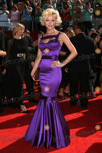 Anya Monzikova Photo - Anya Monzikovaarriving at the Primetime Emmys at the Nokia Theater in Los Angeles CA onSeptember 21 2008