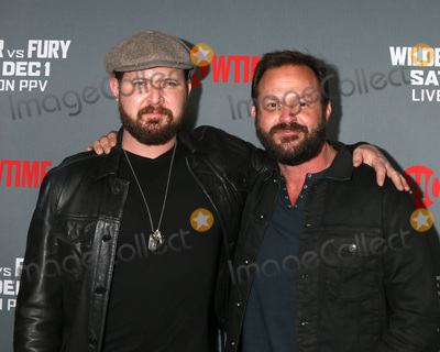 AJ Buckley Photo - LOS ANGELES - DEC 1  AJ Buckley Judd Lormand at the Heavyweight Championship Of The World Wilder vs Fury - Arrivals at the Staples Center on December 1 2018 in Los Angeles CA