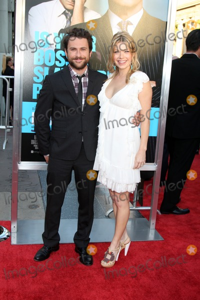 Charlie Day Photo - LOS ANGELES - JUN 30  Charlie Day Mary Elizabeth Ellis arriving at the Horrible Bosses Premiere at Graumans Chinese Theater on June 30 2011 in Los Angeles CA