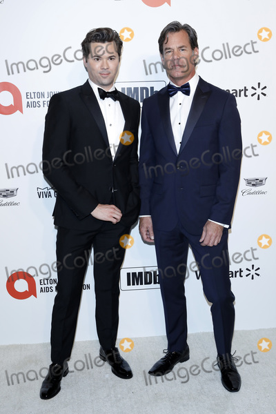 Elton John Photo - LOS ANGELES - FEB 9  ANdrew Rannells Tuc Watkins at the 28th Elton John Aids Foundation Viewing Party at the West Hollywood Park on February 9 2020 in West Hollywood CA
