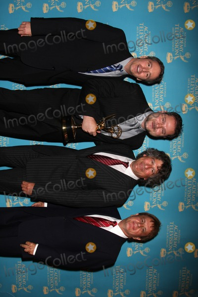 Mike Bryan Photo - Mike Dobson Bryan Harrison David Kurtz  Jack Allocco(winner for Music Direction  Composition for a Drama Series on the Young  The Restlessl) at the Daytime Creative Emmy Awards  at the Bonaventure Hotel in  Los Angeles CA on August 29 2009