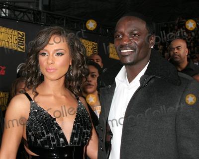 Akon Photo - Alicia Keys  AkonAmerican Music Awards 2007Nokia TheaterLos Angeles CANovember 18 2007