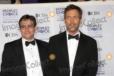 Robert Sean Leonard Photo - Robert Sean Leonard  Hugh Laurie  arriving at the Peoples Choice Awards at the Shrine Auditorium in Los Angeles CA on January 7 2009