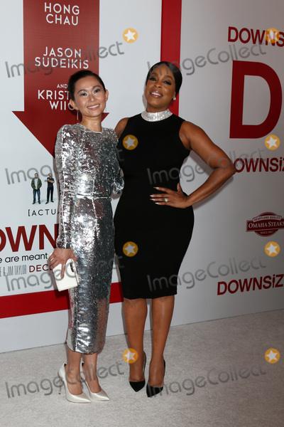 Niecy Nash Photo - LOS ANGELES - DEC 18  Hong Chau Niecy Nash at the Downsizing Special Screening at Village Theater on December 18 2017 in Westwood CA