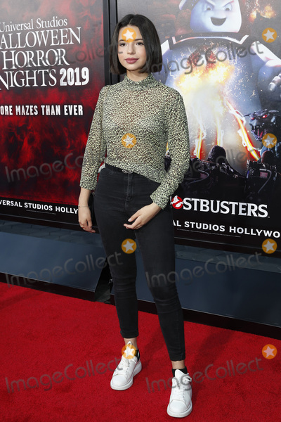 Angela Aguilar Photo - LOS ANGELES - SEP 12  Angela Aguilar at the Halloween Horror Nights at the Universal Studios Hollywood on September 12 2019 in Universal City CA