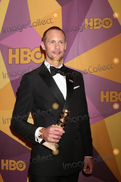 Alexander Skarsgard- Photo - LOS ANGELES - JAN 7  Alexander Skarsgard at the HBO Post Golden Globe Party 2018 at Beverly Hilton Hotel on January 7 2018 in Beverly Hills CA