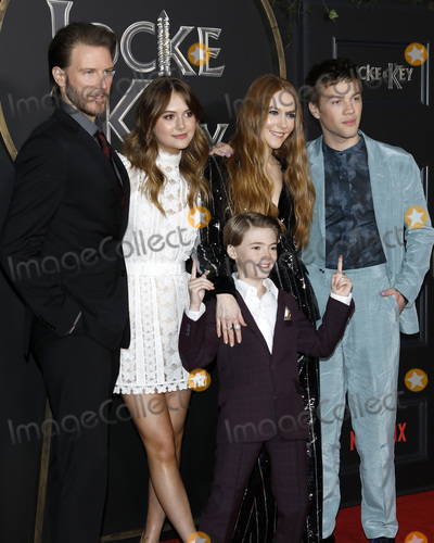 Bill Heck Photo - LOS ANGELES - FEB 5  Bill Heck Emilia Jones Jackson Robert Scott Darby Stanchfield Connor Jessup at the Locke  Key Series Premiere Screening at the Egyptian Theater on February 5 2020 in Los Angeles CA