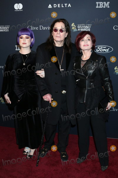 Sharon Osbourne Photo - LOS ANGELES - JAN 25  Kelly Osbourne Ozzy Osbourne Sharon Osbourne at the 2020 Clive Davis Pre-Grammy Party at the Beverly Hilton Hotel on January 25 2020 in Beverly Hills CA
