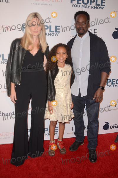 Harold Perrineau Photo - LOS ANGELES - NOV 13  Brittany Perrineau Wynter Perrineau Harold Perrineau at the People You May Know Premiere at the Pacific Theaters on November 13 2017 in Los Angeles CA
