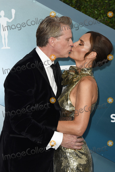 Cary Elwes Photo - LOS ANGELES - JAN 19  Cary Elwes Lisa Marie Kubikoff at the 26th Screen Actors Guild Awards at the Shrine Auditorium on January 19 2020 in Los Angeles CA