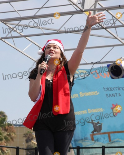 The Radio City Rockettes Photo - LOS ANGELES - AUG 12  Kristin Cruz Jackson - KOST 1035 DJ at the  Kicking Across America with the Radio City Rockettes Event at Santa Monica Pier on August 12 2010 in Santa Monica  CA
