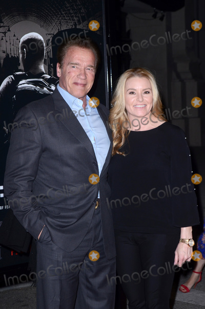Arnold Schwarzenegger Photo - LOS ANGELES - FEB 5  Arnold Schwarzenegger Heather Milligan at the The 1517 To Paris World Premiere at the Warner Brothers Studio on February 5 2018 in Burbank CA