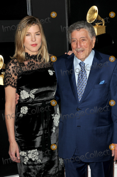 Tony Bennett Photo - LOS ANGELES - FEB 10  Diana Krall Tony Bennett at the 61st Grammy Awards at the Staples Center on February 10 2019 in Los Angeles CA