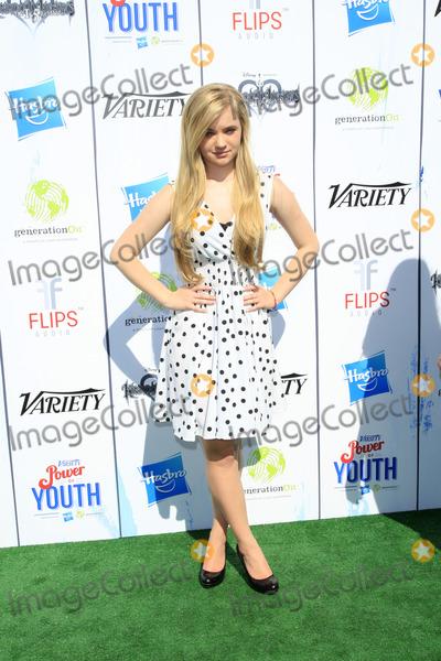 Sierra McCormick Photo - LOS ANGELES - JUL 27  Sierra McCormick at the Varietys Power of Youth  at Universal Studios Backlot on July 27 2013 in Los Angeles CA