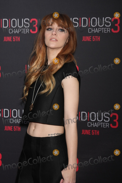 Aubrey Peeples Photo - LOS ANGELES - JUN 4  Aubrey Peeples at the Insidious Chapter 3 Premiere at the TCL Chinese Theater on June 4 2015 in Los Angeles CA
