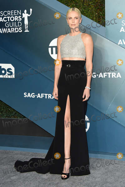 Charlize Theron Photo - LOS ANGELES - JAN 19  Charlize Theron at the 26th Screen Actors Guild Awards at the Shrine Auditorium on January 19 2020 in Los Angeles CA