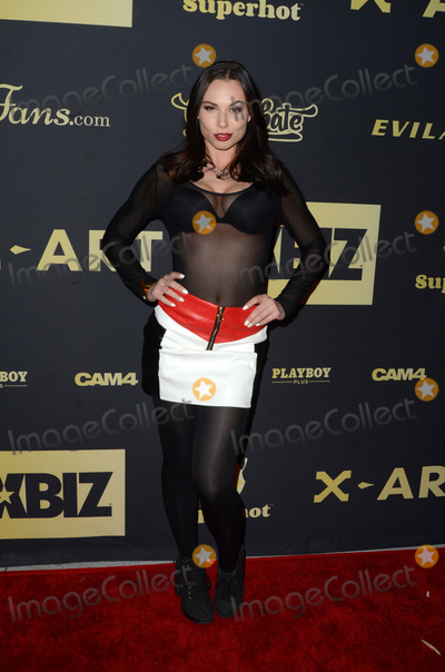 Aidra Fox Photo - LOS ANGELES - NOV 20  Aidra Fox at the XBIZ Nominations Gala at the W Hollywood Hotel on November 20 2019 in Los Angeles CA