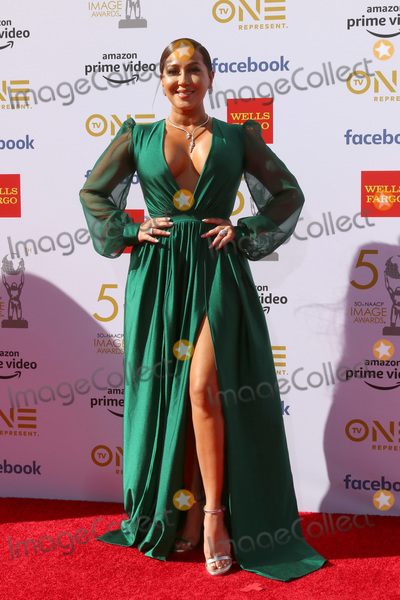 Adrienne Houghton Photo - LOS ANGELES - MAR 30  Adrienne Houghton at the 50th NAACP Image Awards - Arrivals at the Dolby Theater on March 30 2019 in Los Angeles CA